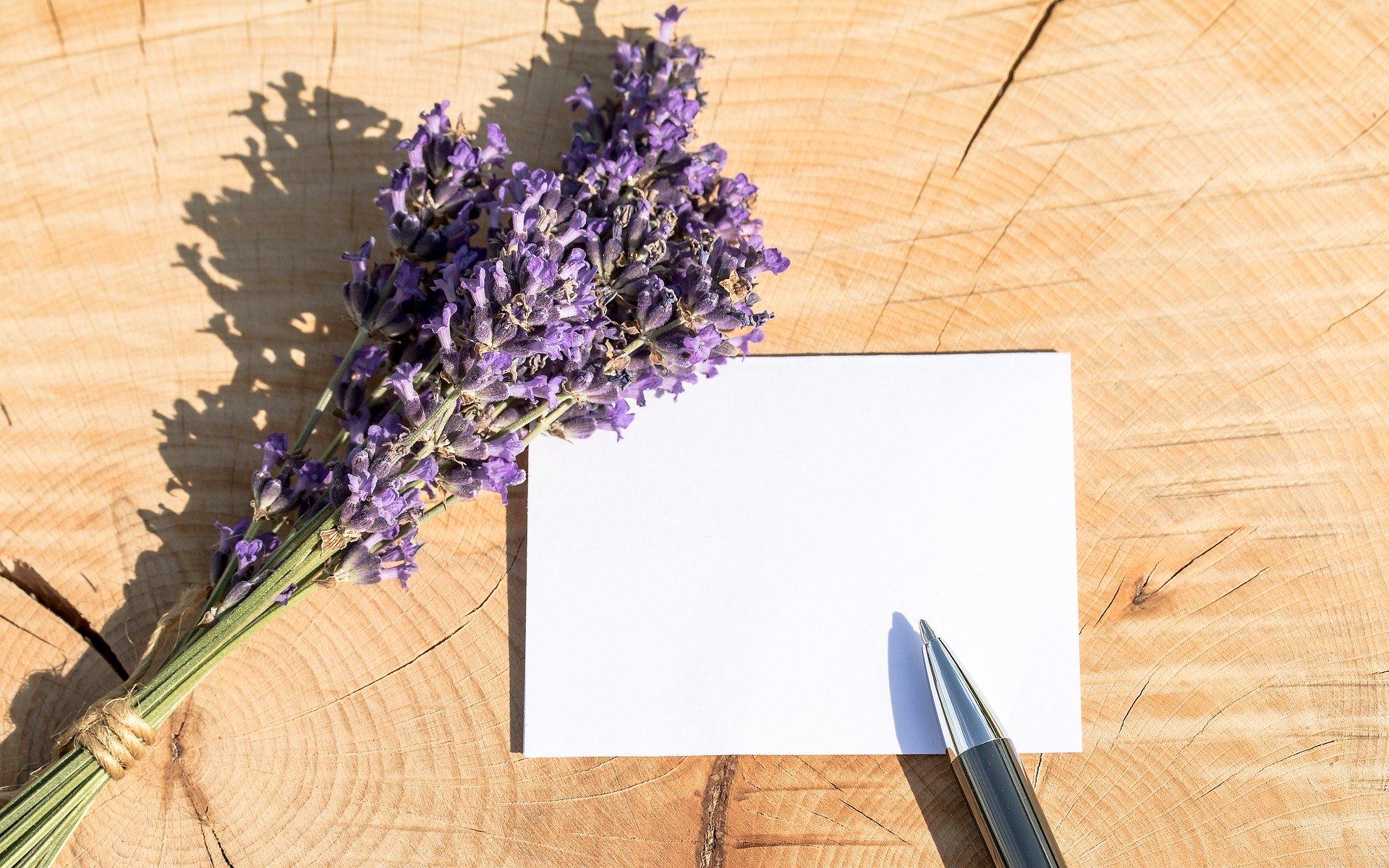 Die Kunst des Kartenschreibens
