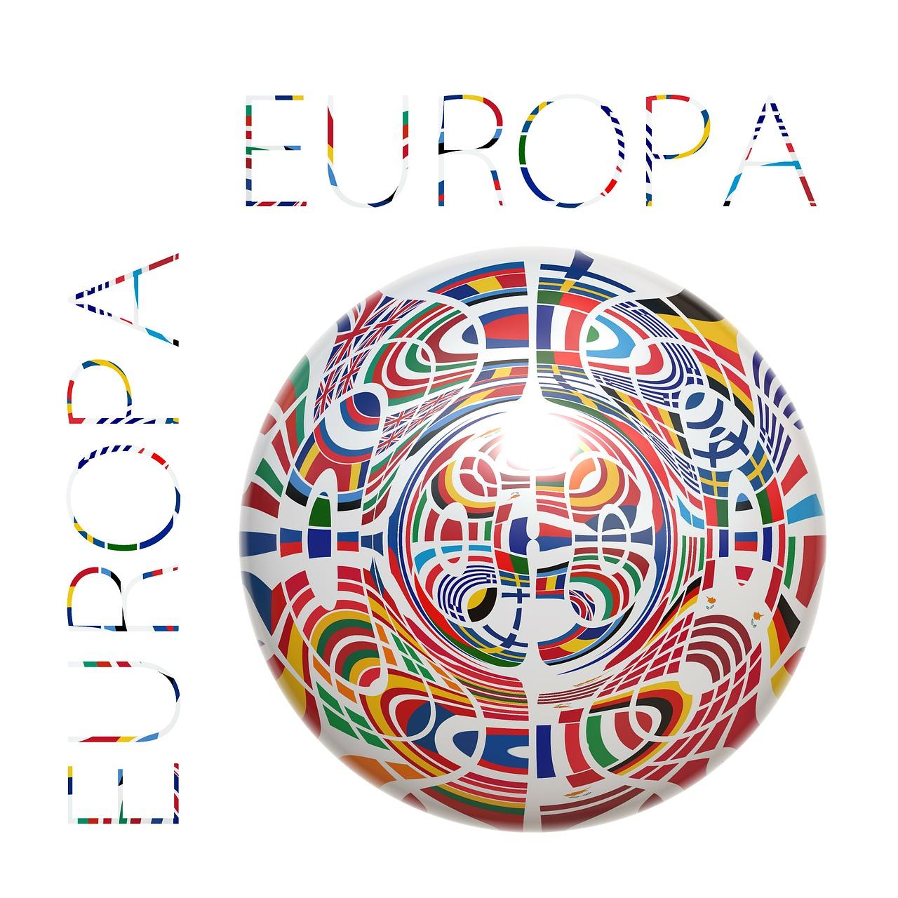 Karte zum Europatag schreiben